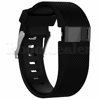 Replacement Silicone Wrist Strap Bracelet For Fitbit Charge HR Activity Tracker 2