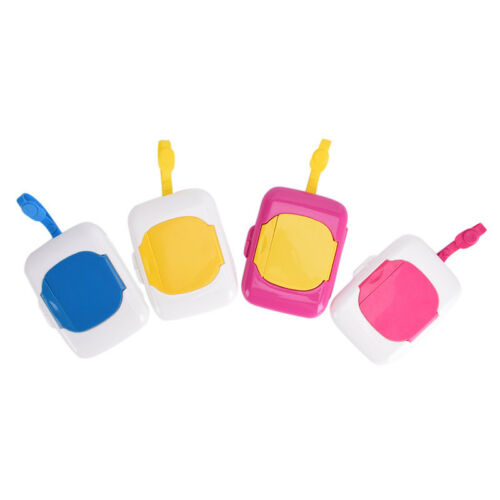 Baby Travel Wipe Case Child Wet Wipes Box Changing Dispenser Storage YH