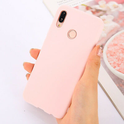 Candy Color Case for Huawei Y5 Y6 Y7 Y9 Honor 8x P20 Cover Smart Soft Silicon 3