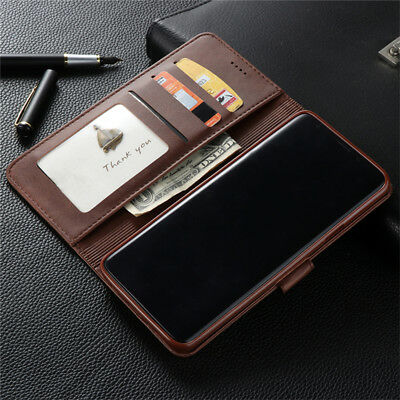 For Samsung Galaxy S10 S9 S8 Plus A8 A7 Magnetic Flip Leather Wallet Case Cover 5