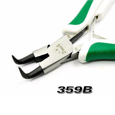 Precision Beading Pliers Tool Kit Set Jewelery Design Bent Nose Cutting Needle