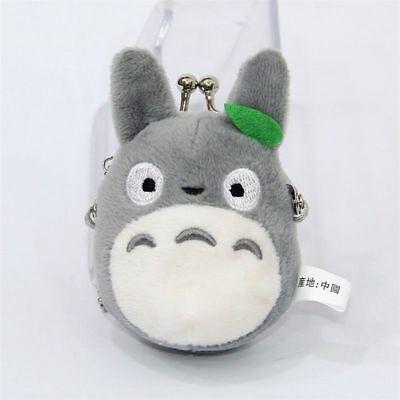 Studio Ghibli My Neighbor Totoro Left Plush Doll Toy Mini Holder Coin Bag Gift 2