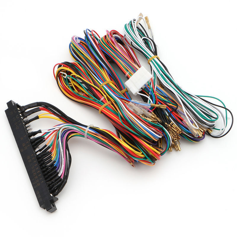 1999 gmc wire harness wire harness labeling lot 10 jamma wiring harness multicade 60in1 arcade game ...