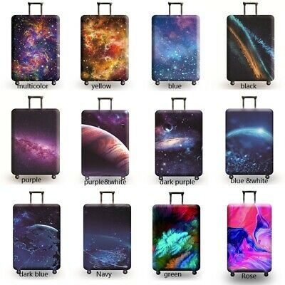 Travel Luggage Cover Galaxy Starry Elastic Anti-Scratch Suitcase Dust Protector 3