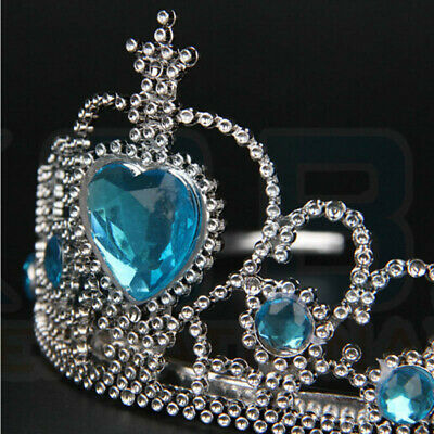 Vicloon Ice Princess Elsa Accessories Set  Tiara Crown and Magic Wand Girls Gift 11