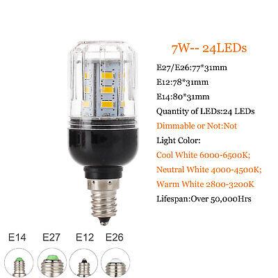 E27 E14 B22 LED Mais Birne 5730 SMD 9W 12W 15W 20W 25W 30W 35W Helle weiße Lampe 2