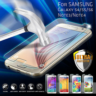 For Samsung Galaxy J7 (2016) Premium HD [Tempered Glass] Screen Protector Film 10