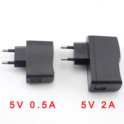 5V 0.5A 1A 2A 3A AC DC Micro USB Power Adapter Supply Charger led strip lights 2