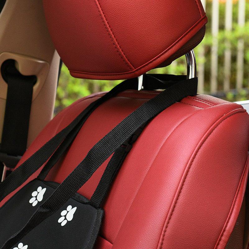 Folding Pet Dog Cat Car Seat Travel Carrier Puppy Handbag Side Bag Safety Basket 10