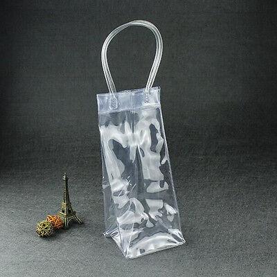 Wine Beer Champagne Bucket Drink Ice Bag Bottle Cooler Chiller Foldable Carrier