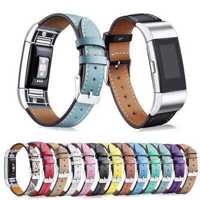 Fitbit Charge 2 3 Armband Edelstahl Ersatzband Nylon Milanese Sport Leder Watch 5
