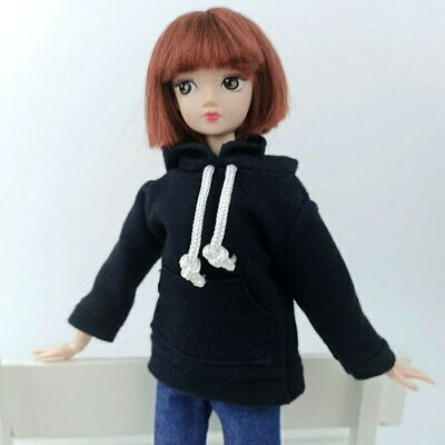 """Fashion Handmade Hoodie For 11.5"""" 1/6 Doll Sweatshirt Outfits Doll Clothes Shoes 3"""