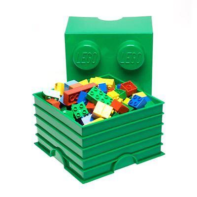 Lego Aufbewahrungsklotz 4 Grun Kinder Schlafzimmer Spielzeug