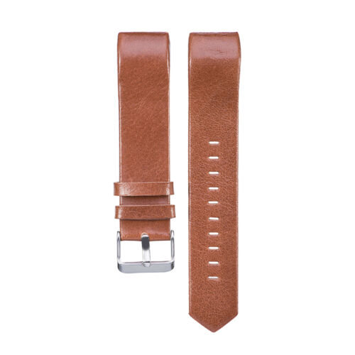 2017 Genuine Leather Wrist Band Watch Strap For Fitbit Charge 2 Large Small 5