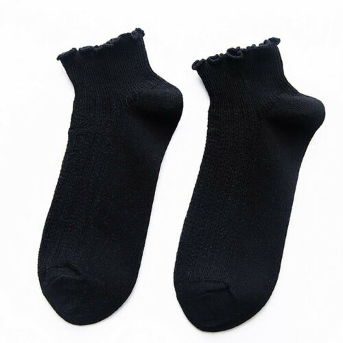 Spring Fashion Women Solid Color Thin Section Curling Summer Socks Loose Socks N 9