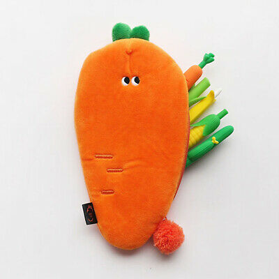 Funny Vegetables Soft Plush Type Pencil case Pen Bag Stationery Tavel Organizer 12