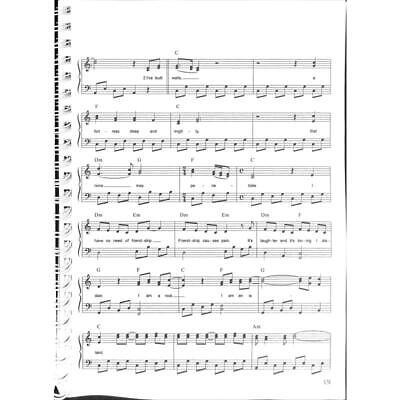 100 Hits in C-Dur Band 2 - Noten für Keyboard, Klavier, Gitarre 7743 3