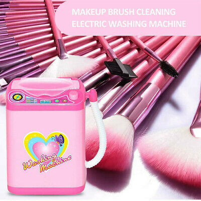 1Pc Cute Electric Cosmetic Powder Puff Washing Machine Makeup Brushes Cleaner 8