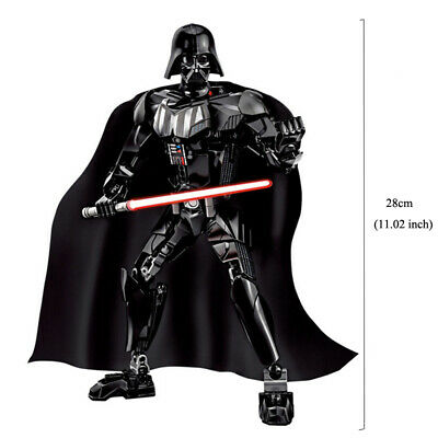 Star Wars Buildable Action Figure Darth Vader Stormtrooper Chewbacca Toy For Kid 4