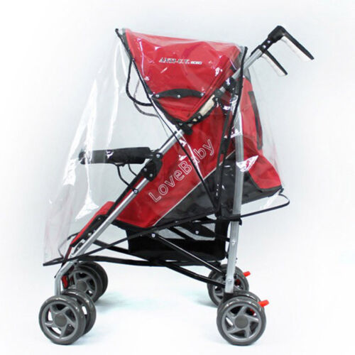 Universal Stroller Weather Shield Rain Wind Waterproof Cover For Baby Stroller