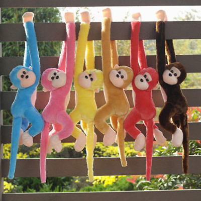 Baby Kids Soft Plush Toys Cute Colorful Long Arm Monkey Stuffed Animal Doll 3