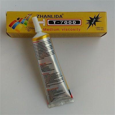 50ml T-7000 needle type phone screen black glue DIY craft jewelry adhesive GREAT 3