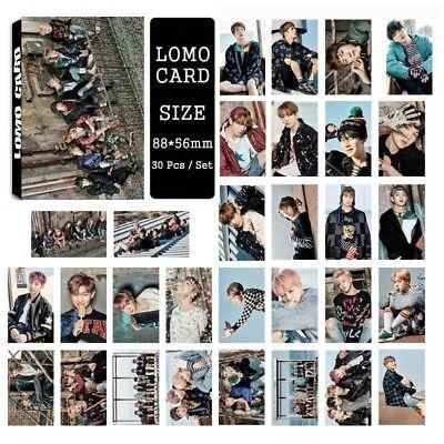 Lot of /set KPOP Bangtan Boys Collective Album Posters Photo Card Lomo card 7