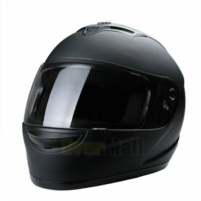 2019 Safety DOT Motorcycle Full Face Helmet Motorbike Racing Sports M / L / XL 5