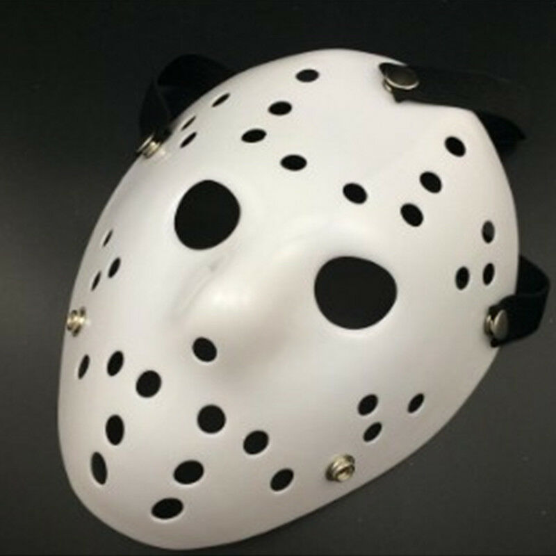 Jason Voorhees Freitag 13. Deluxe Halloween Horror Hockey Maske Cosplay Kostüm 7