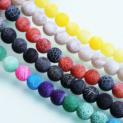 Wholesale Natural Gemstone Round Spacer Loose Beads For Bracelets Jewelry Making 7