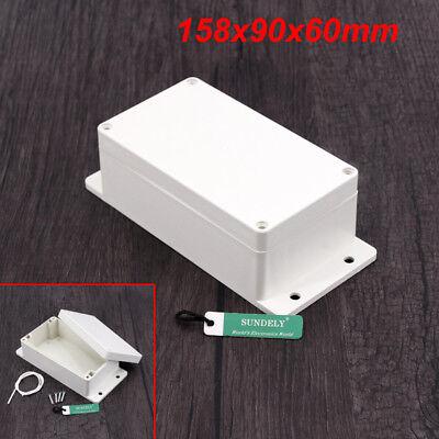 New Plastic Electronics Project Box Enclosure Instrument Case DIY With Screws UK 10