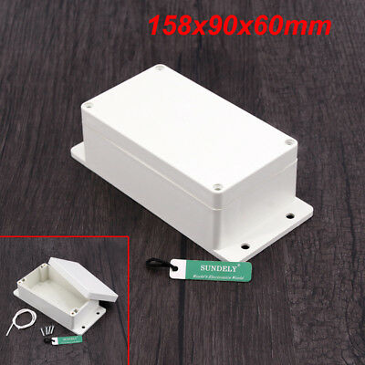 Waterproof Plastic Cover Project Electronic Case Instrument Enclosure Box Home 10