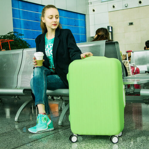 NEW Elastic Luggage Suitcase Dust Cover Dustproof Protector Anti Scratch Travel 5