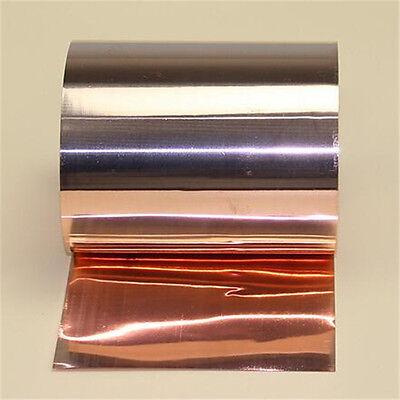 1pcs 99.9/% Pure Copper Cu Metal Sheet Foil Plate Strip 0.1mm x 200mm x 1000mm