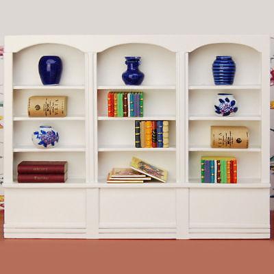 1/12 Dolls House Miniature Bedroom Kitchen Living Room Furniture Set Bed Cabinet 10