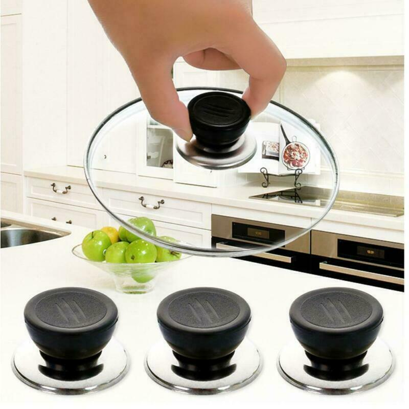 Replacement Knob Handle For Glass Lid Pot Pan Cover Cookware 6 1//2//3pcs OiRrE