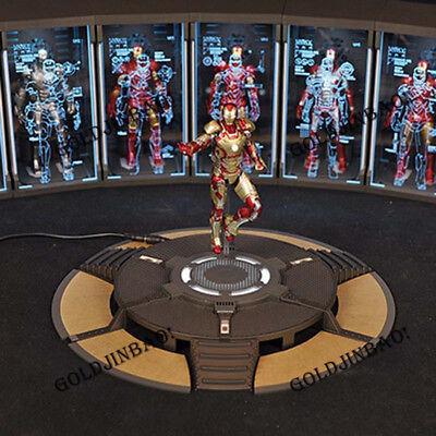 "TOYSBOXPlatform Base 1//6 Iron Man Armor Testing Workshop  for 12/"" Tony Figure"