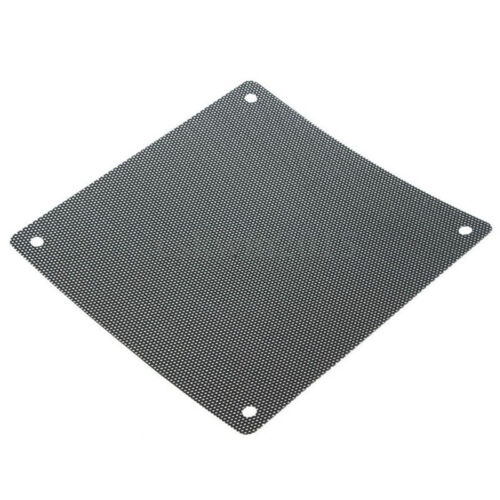 5X120mm Cuttable Black PVC PC Fan Dust Filter Dustproof Case Computer Mesh TN