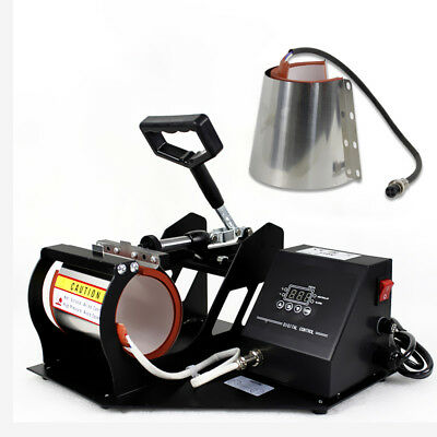 2in1 Station Mug Cup Heat Press Machine Sublimation For 11OZ 12OZ 3