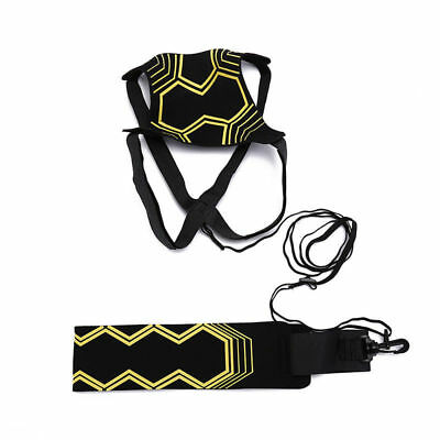 Football Self Training Kick Practice Trainer Aid Equipment Waist Belt Returner 4