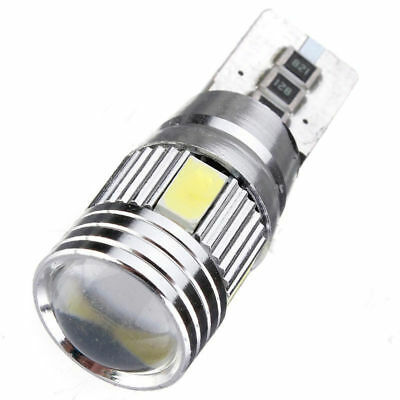 2 X T10 501 194 W5W 5630 LED 6SMD Car HID CANBUS Error Free Wedge Light Bulb New 6