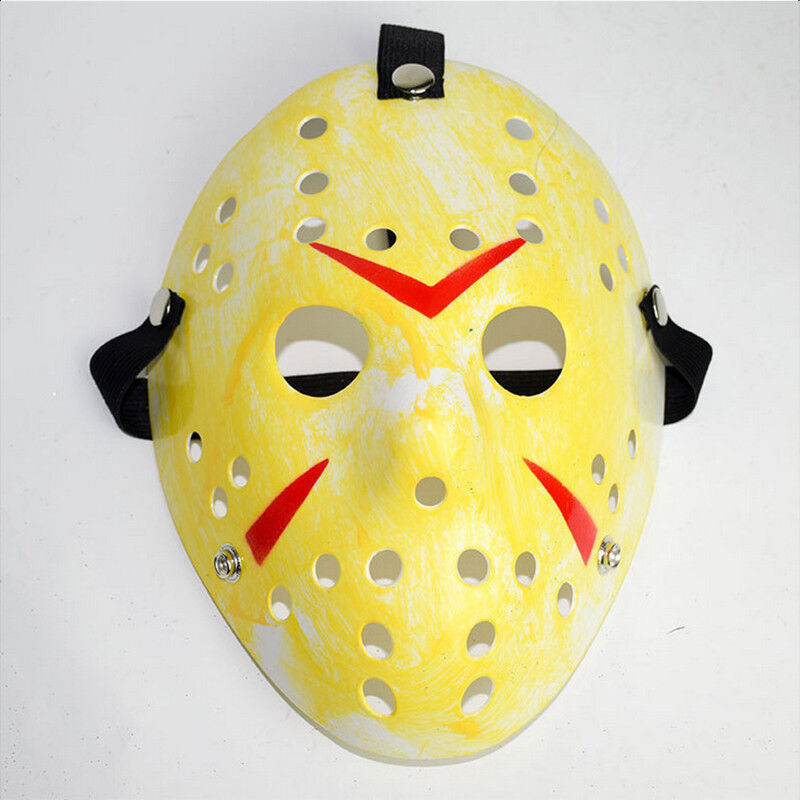 Jason Voorhees Freitag 13. Deluxe Halloween Horror Hockey Maske Cosplay Kostüm 5