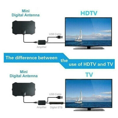 960 Mile Range Antenna TV Digital HD HDTV 1080p Skywire 4K Antena Digital-Indoor 3