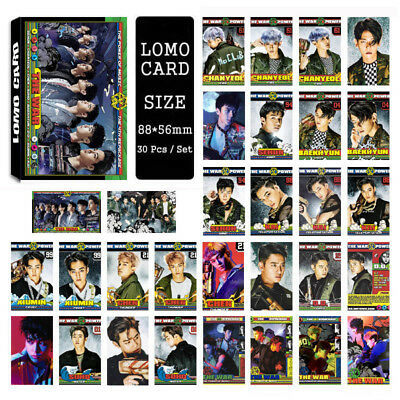 Lot of set cute KPOP EXO Album Personal Collective Photocard Poster Lomo Cards 2