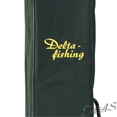 Delta Fishing 2Fach Rutentasche 100-195CM Futteral Rutenfutteral Angeltasche Kva