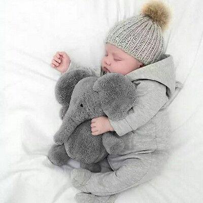 USA Stuffed Elephant Pillow Cushion Stuffed Doll Toy Baby Kids Soft Plush Gifts