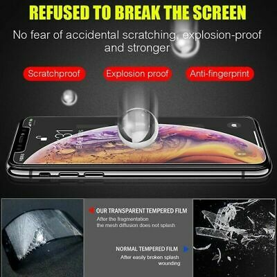 [3-Pack] iPhone 7 8 Plus X XS XR XS Max Premium Tempered Glass Screen Protector 6
