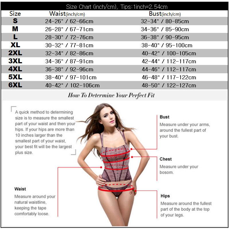 1a33de14002 Women Lace up Overbust Corset Top Bustier Sexy Lingerie Shaper Plus Size  S-6XL 2 2 of 11 ...