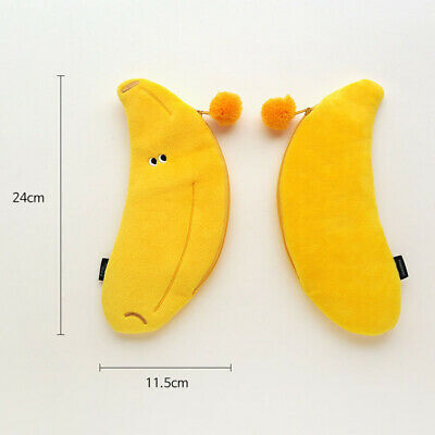 Funny Vegetables Soft Plush Type Pencil case Pen Bag Stationery Tavel Organizer 6