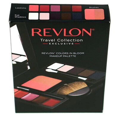 Revlon Makeup Palette Colours In Bloom Lipstick Blusher And Eyeshadow 4